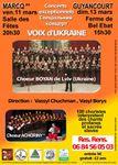 Marcq, Guyancourt, concerts voix d'Ukraine les 11 et 13 mars 2011