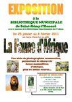 """Saint-Rémy l'Honoré, exposition """"la faune d'Afrique"""""""