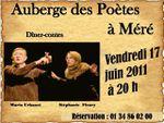 Méré, soirée contes à l'auberge des poetes le 17 juin 2011
