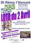 Saint-Rémy l'Honoré; grand loto le samedi 2 avril 2011