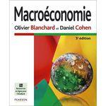 La « Macroéconomie » par Olivier BLANCHARD et Daniel COHEN