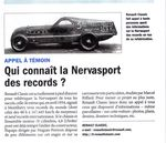 Qui connait la Renault Nervasport des records ?