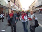 Nice : Le Front de Gauche à l'offensive sur l'Avenue Jean Médecin