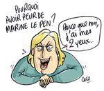 Dessin du jour : Pourquoi avoir peur de Marine Le Pen ?