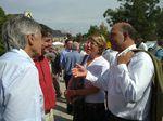 Pierre Moscovici dans le chaudron de Rosporden