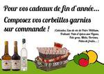 Pour vos cadeaux des fêtes de fin d'année : Calvados, Apéritif, coffrets, corbeilles garnies... pensez à la Cidrerie Traditionnelle du Perche !
