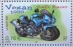 TIMBRE POSTE FRANCE 2002 MOTO VOXAN 1000 CAFE RACER