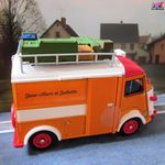 FASCICULE N°19 CITROEN TUB TYPE HY 78 1967 CAMPING CAR TUB HY78
