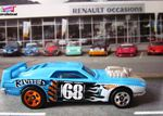 RIVITED HOT WHEELS 1/64 MINIATURE COLLECTION CARCOLLECTOR