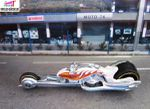 HAMMER SLED MOTO HOT WHEELS 1/64
