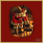 Le Père-Noël et le petit curieux