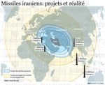 Nucléaire : Missiles iraniens : projets et réalités - Animation