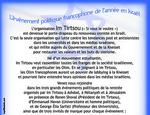 L'évènement politique francophone de l'année en Israël : Georges-Elia Sarfati