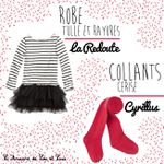 La minute mode : tulle et rayures