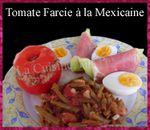 Tomate Farcie à la Mexicaine ...