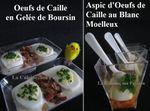 Pâques, Cuisine Créative ... Quelques Idées de Verrines aux Oeufs de Caille