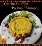 Bouillie de Jack O'Lanterne OU Quiche Soufflée au Potiron et Saumon