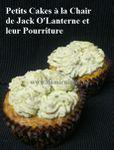 Halloween: Cupcakes à la Chair de Jack O'Lanterne et leur Pourriture ...