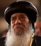 décès du Pope Schenouda III, Patriarche des cooptes orthodoxes, les chrétiens majoritaire d'Egypte.