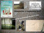 A la rencontre du patrimoine, ce dimanche 15 Septembre à ROUCY