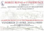 Table ronde à propos de Saint Marcoul le 23 Avril à Corbeny(02)