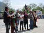 11 avril 2010 : l'équipe Handimachal à Manali