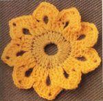 """Crochet : Patrons & modèles gratuits 21 """" Fleurs au crochet """""""