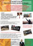 SOCIETE CIVILE (ACSCI FRANCE): COMMUNIQUE DE PRESSE