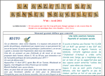 La gazette d'Avril...