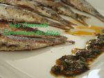 Sardines grillées Chermoula
