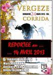 ... LA CORRIDA DE LA FERIA DU RHÔNY A VERGEZE (30) EST REPORTEE AU 14 AVRIL ...