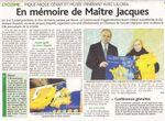 Un musée Jacques Anquetil à La Neuville Chant d'Oisel en 2011