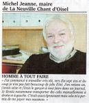Michel Jeanne le 26 juillet 2011 à La Neuville Chant d'Oisel