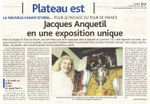 Exposition Jacques Anquetil : Tour de France à La Neuville Chant d'Oisel en juin 2012