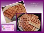 Gauffres au cook'in, Mycook, thermomix...