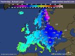 France / Europe: cold wave across the continent: