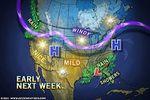 USA : tempêtes de neige pour la fin d'année