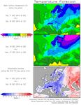 Europe : nouvelle vague de froid et neige