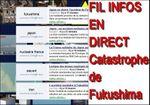 FUKUSHIMA : fil d'informations en DIRECT sur la catastrophe nucléaire au japon
