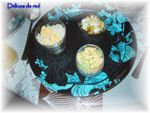 verrines de riz composé