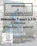 Le 3 mars sur la tombe de Briand