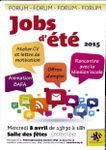 Forum jobs d'été : Mercredi 8 Avril 2015