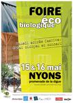19e foire éco-biologique de Nyons - 15/16 mai 2010