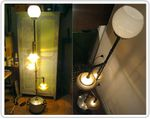 Upcycling : lampadaire style industriel