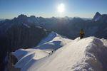 Arête du Diable au Mont Blanc du Tacul