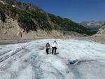 Ecole de glace sur la Mer de Glace