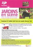 Jardins en scène au fort de Condé le 19 Juillet, Le blog de Syla , Juillet 2013