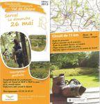 Avis de randonnée intercommunale du Val de l'Aisne , 26 Mai 2013