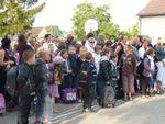 La rentrée des primaires du groupe Charles Tassin à l'école de Bucy-2010