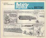 """Publication d'Astérix et les bretons dans """"villages de joie"""" (Dargaud, 1966)"""